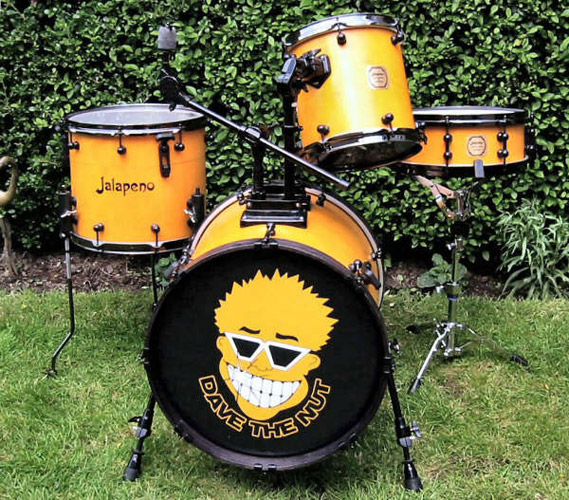 Jalapeno drums hand made custom drum kits for 18x18 floor tom